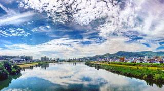 川の中の空の写真・画像素材[770198]