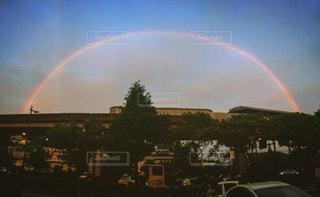 虹の街の写真・画像素材[813075]