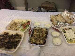 トルコ料理のデリバリーを頼んだみた!の写真・画像素材[1739334]