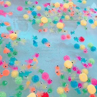 おもちゃの金魚すくいの写真・画像素材[1372099]