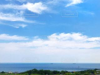 青い空と瀬戸内海♪の写真・画像素材[2393346]