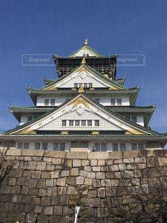 大阪城の写真・画像素材[359254]