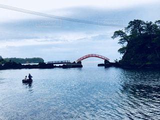 佐渡のたらい舟の写真・画像素材[1593317]