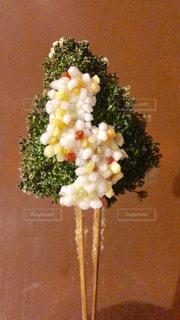 串揚げ クリスマスツリーの写真・画像素材[1690232]