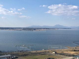 霞ヶ浦と筑波山の写真・画像素材[1723242]
