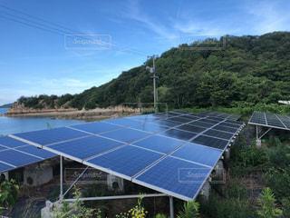 太陽光発電の写真・画像素材[2358352]