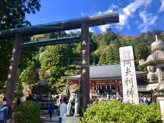 大山阿夫利神社の写真・画像素材[2695527]
