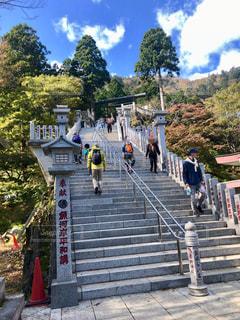 大山阿夫利神社 参道の写真・画像素材[2695528]