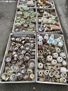 益子焼陶器市の写真・画像素材[3845545]