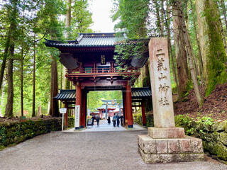 日光二荒山神社の写真・画像素材[4386749]