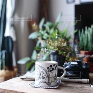 おうちカフェの写真・画像素材[1077639]