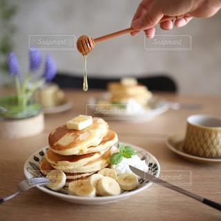 パンケーキ頂きます🥞の写真・画像素材[1077643]