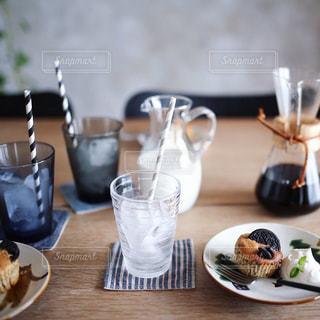 友達とおうちカフェの写真・画像素材[1211342]