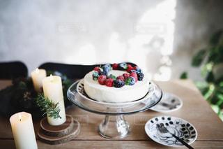 クリスマスケーキの写真・画像素材[1690705]