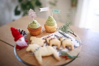 クリスマスのお菓子の写真・画像素材[1690717]