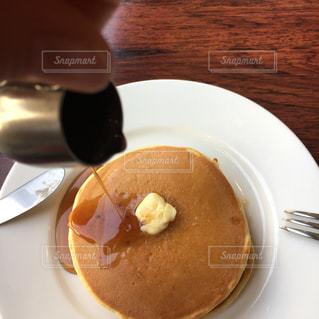 ホットケーキの写真・画像素材[1084537]