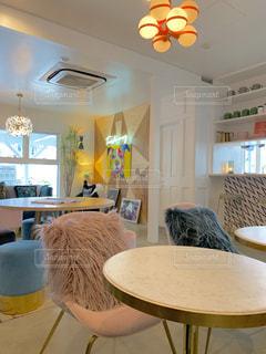 横浜にあるお洒落なカフェの写真・画像素材[1749312]