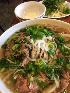 ベトナム料理の牛肉フォーの写真・画像素材[1561124]