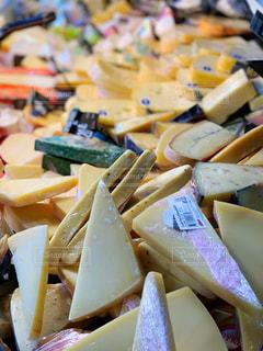 チーズ売り場の写真・画像素材[1644958]