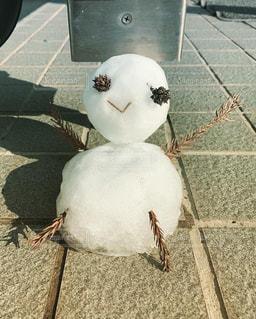 雪だるまの写真・画像素材[2009616]