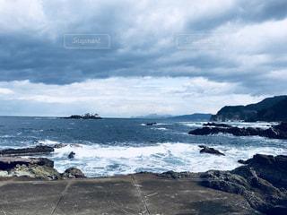 冬の日本海の写真・画像素材[1520485]
