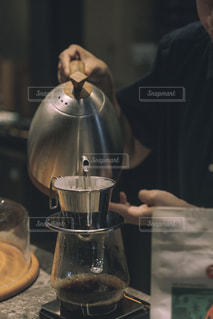 "CAFE ""barista""の写真・画像素材[2405369]"