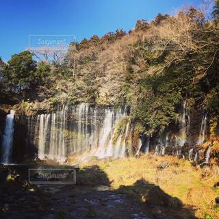 白糸の滝の写真・画像素材[335214]