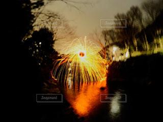 スチールウールスピニングの写真・画像素材[335960]