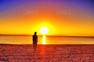 夕日の写真・画像素材[337540]