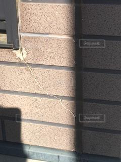 レンガ造りの建物のクローズアップの写真・画像素材[2881945]
