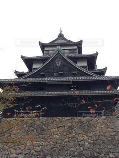 松江城の写真・画像素材[338304]