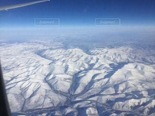 飛行機にて上空写真 - No.1093745