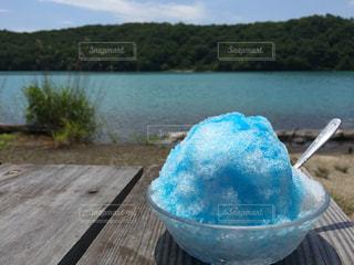 かき氷の写真・画像素材[3393170]