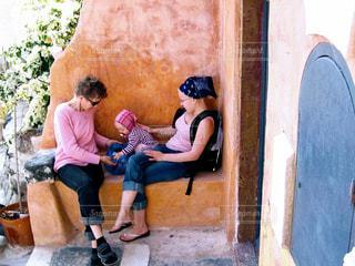 サントリーニ島の写真・画像素材[416544]