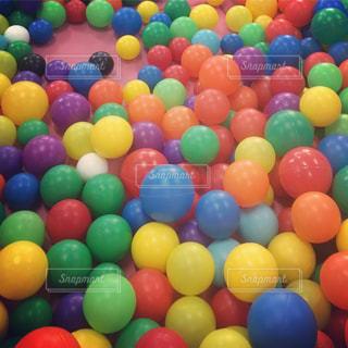カラーボールの写真・画像素材[907702]
