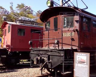 電車の写真・画像素材[384916]
