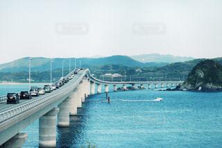 角島大橋の写真・画像素材[519036]