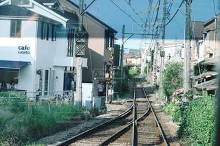 江ノ電の線路の写真・画像素材[779017]