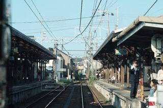 駅のホームの写真・画像素材[779020]
