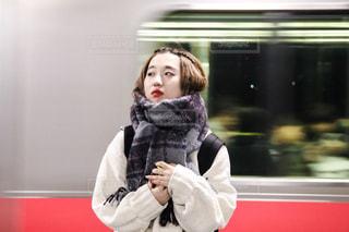 駅のホームの写真・画像素材[1130034]