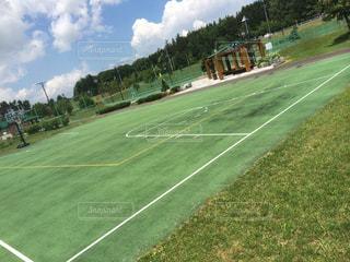 テニスコートの写真・画像素材[346067]