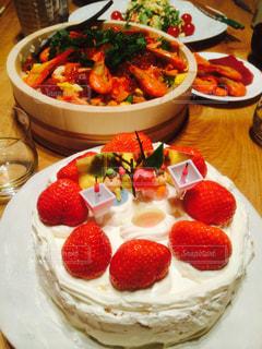 ひな祭りのケーキの写真・画像素材[346074]