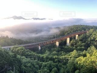 北海道 三国峠の朝日の写真・画像素材[3743603]
