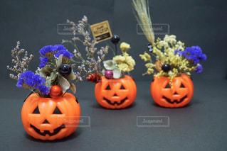 ハロウィンアレンジの写真・画像素材[801422]