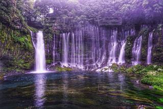 白糸の滝の写真・画像素材[827764]