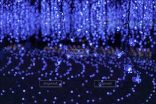 背景の紫と青の空のグループの写真・画像素材[926057]