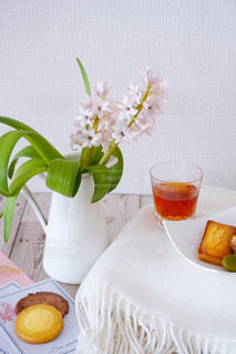 クローズ アップ食べ物の皿とコーヒー カップの写真・画像素材[1732764]