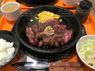 ステーキは低糖質の写真・画像素材[343313]