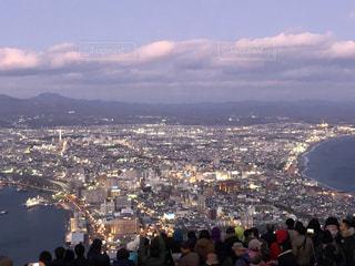 函館山からの夕暮れの写真・画像素材[2791520]