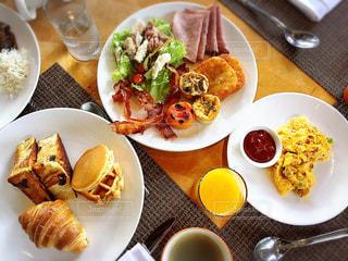 朝食の写真・画像素材[345133]